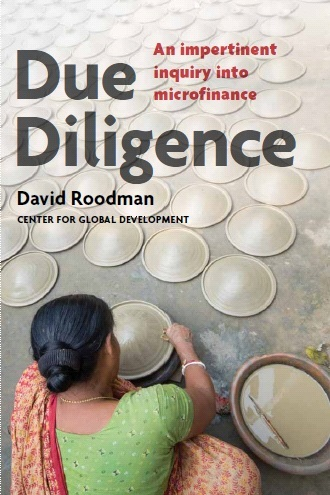 Cover, David Roodman, Due Diligence: An Impertinent Inquiry into Microfinance