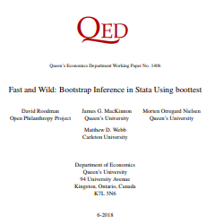 "Fast and wild: new paper on my ""boottest"" program"
